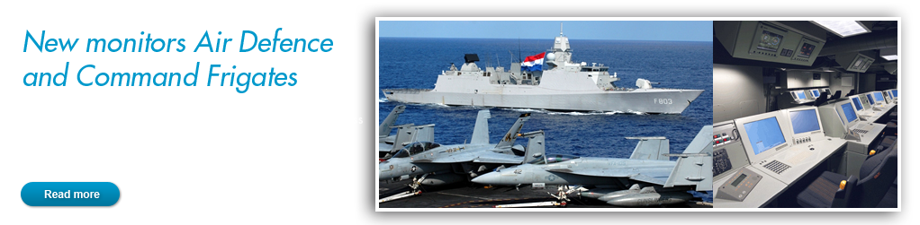 New monitors for the Air Defence and Command frigates