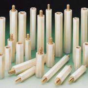 Nylon Pillars Hexagonal